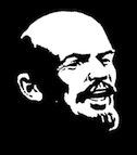 Lenin laughing