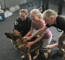 Police apprec dog