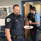 Police apprec smile