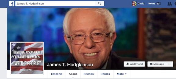 James T Hodginson