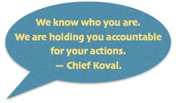 Accountable Koval quote