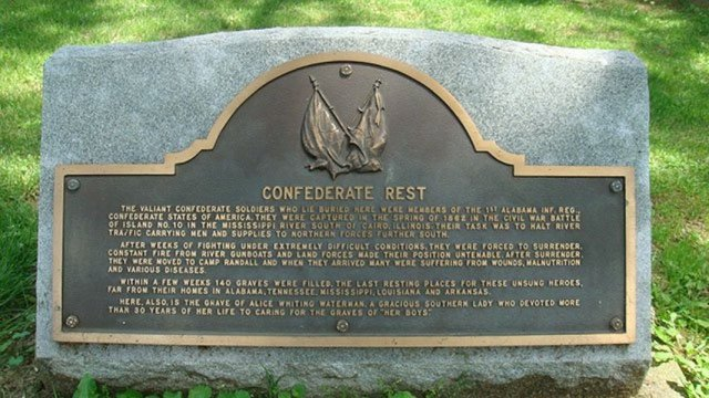 Confederate rest
