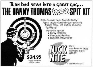 Danny Thomas coffee spray