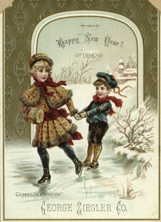 5eb583135384f1552e1502194f96f442-new-year-card-vintage-cards