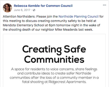 Kemble safe communities