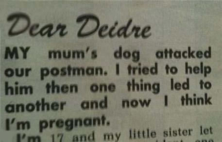 Dear Diedre