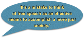 Mistake free speech