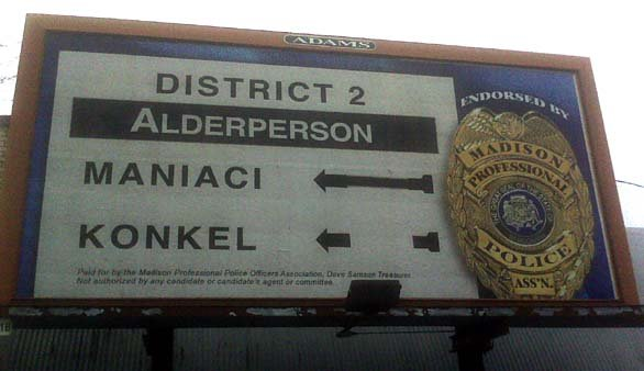Konkel PD billboard