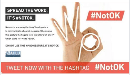 ACLU hashtag