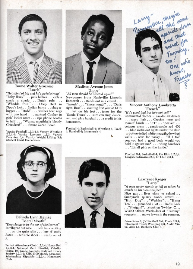 National Lampoon's high school yearbook