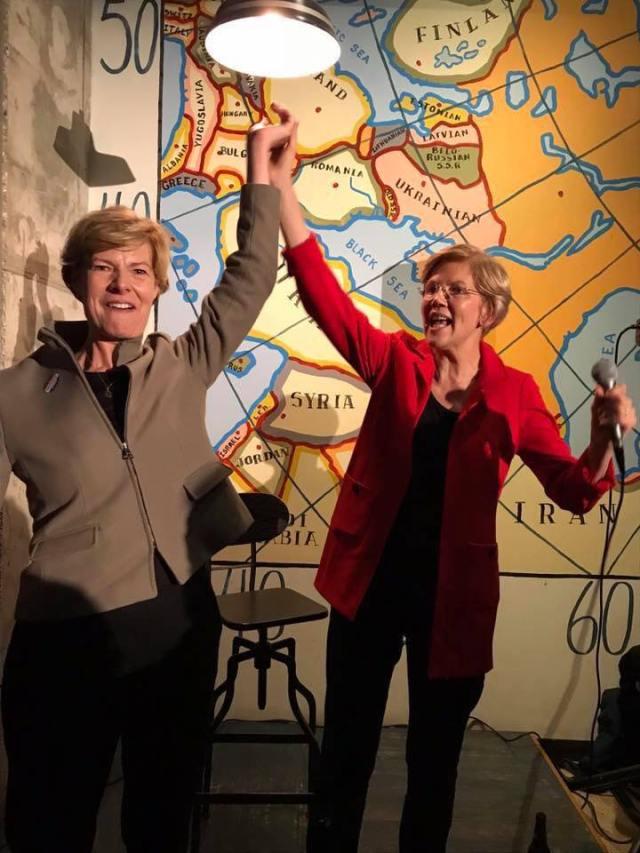 Sen Warren and Tammy