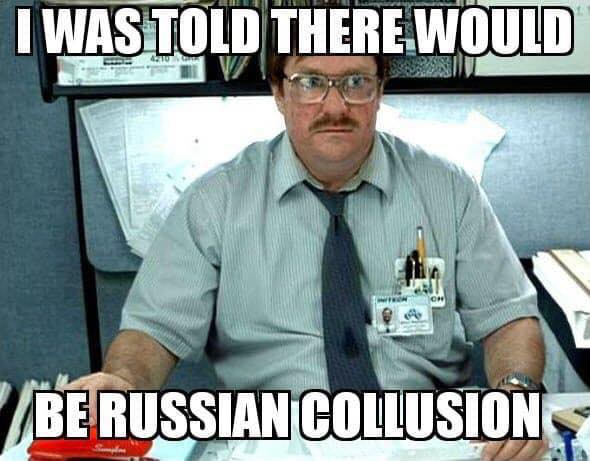 I was told collusion