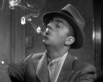 Thin Man blows smoke