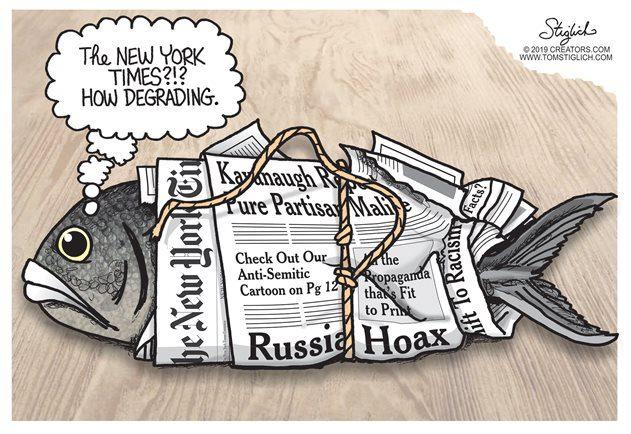 NY Times Fish wrap