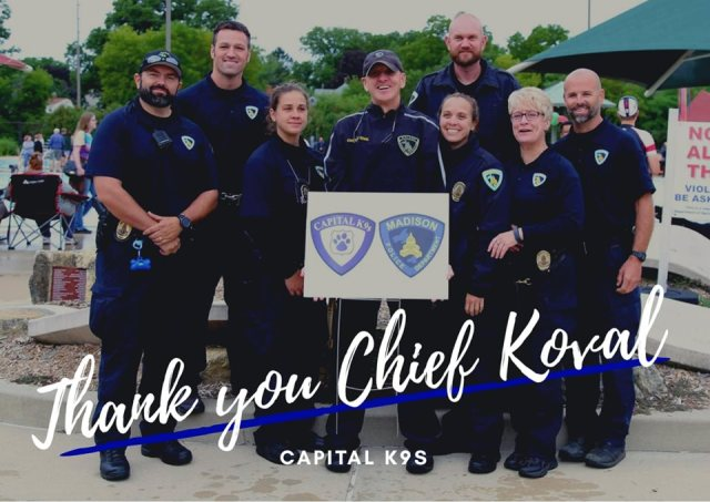 Thank you chief