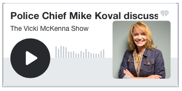 Vicki McKenna podcast logo
