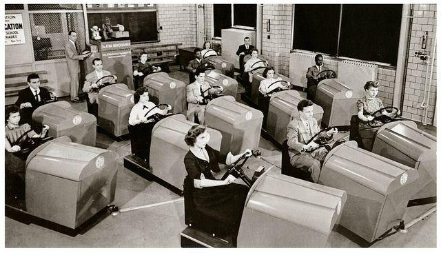 Driver's ed 1950