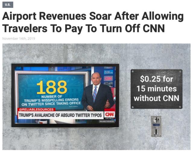 CNN turn off