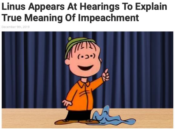 Linus impeachment