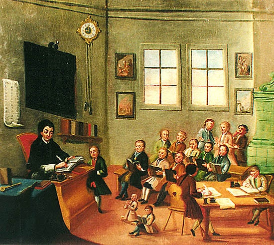 18th-century-school-room