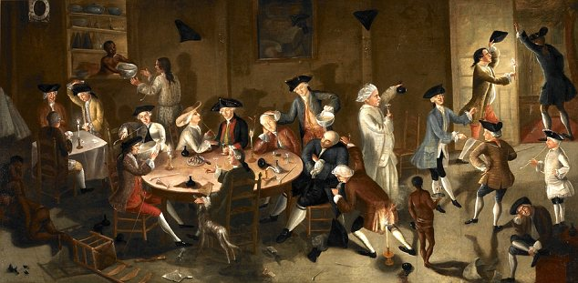 Colonial drinkers