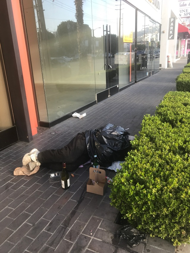 Homeless in W. Hollywood