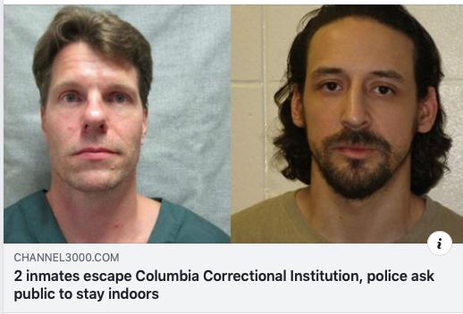 Inmates escape