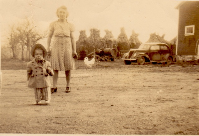 Kay, 2 & grandma Rose