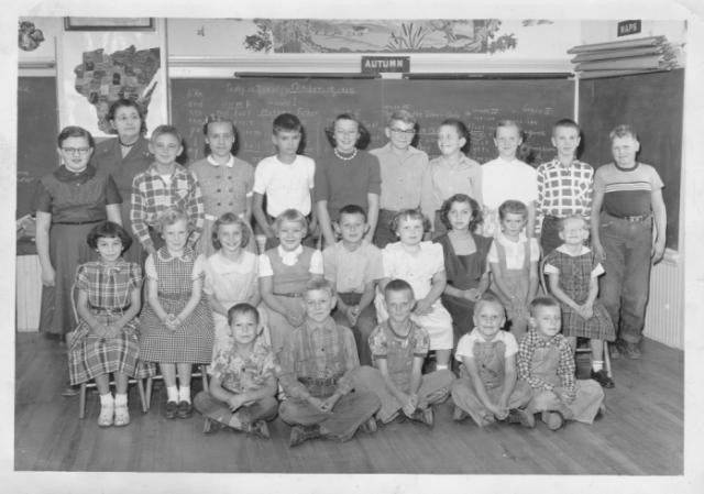 Oak Lawn School, Oct 1955