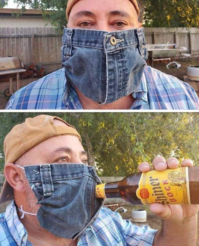 Beer mask
