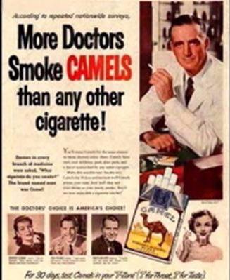 Doctors smoke