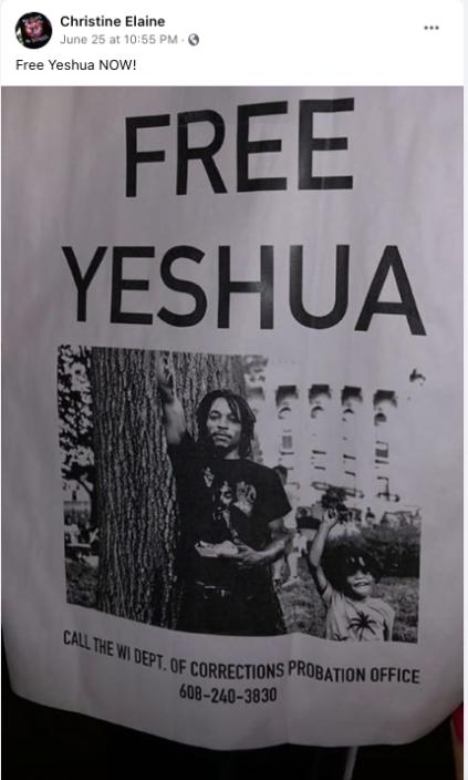 Free Yeshua poster