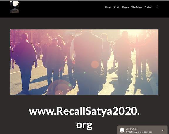 Recall Satya website