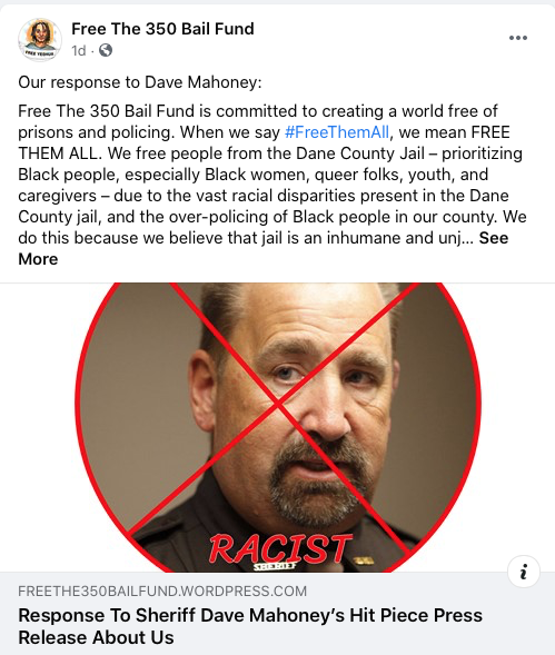 Dave Mahoney, racist