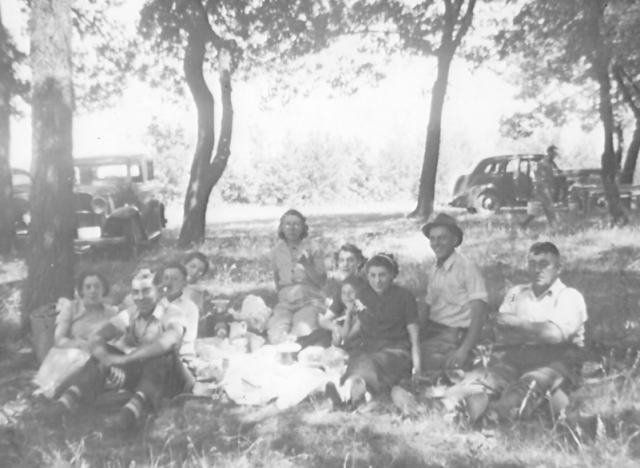 Fourth July picnic 1939