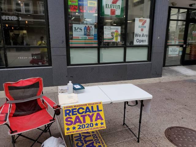 Recall Satya on State Street