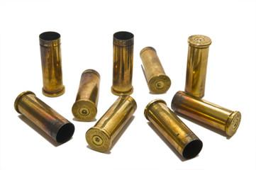 Spent shell casings
