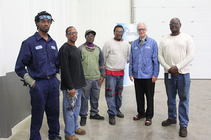 Sen. Ron Johnson with Joseph Project trainees
